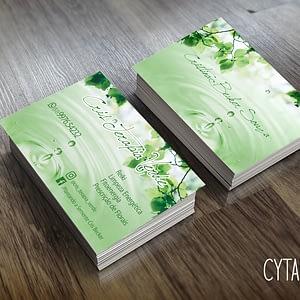 cartão de visita terapeuta reiki terapia holística