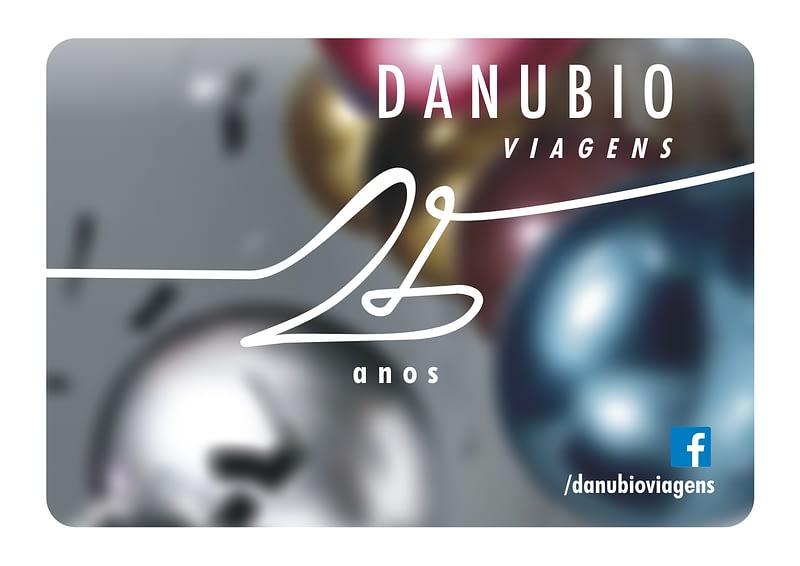 Selo 25 anos Danubio Viagens