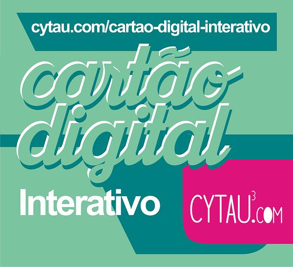 cartão interativo digital cytau